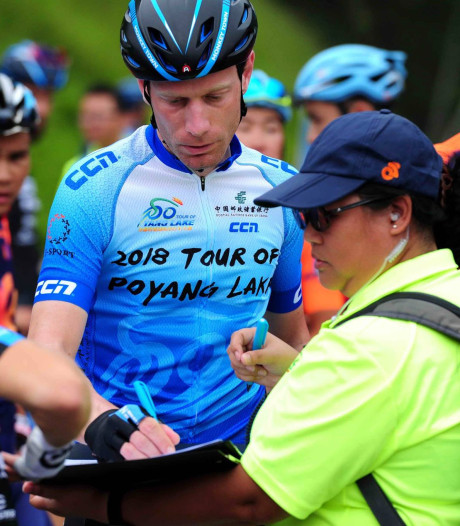 De Jonge nog 1 etappe voor eindzege China