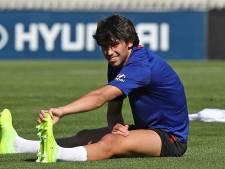 Félix valt uit op training Atlético