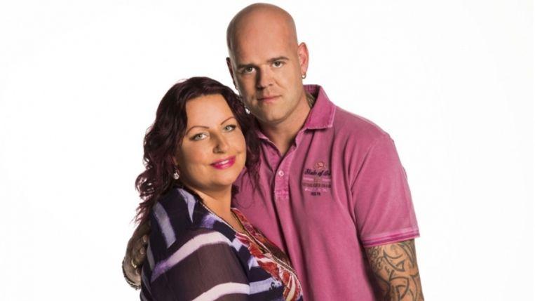 Kasia en Ben, finalisten van House Rules Holland. Beeld