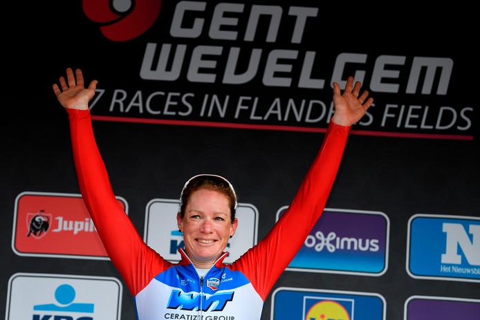 Kirsten Wild was eerder dit jaar al succesvol in onder meer Gent-Wevelgem.