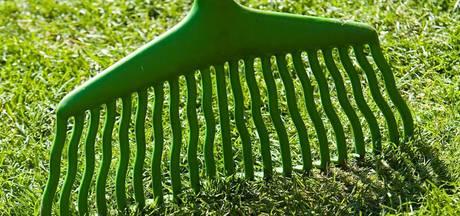 Gemaaid gras krijgt een tweede leven als paaltje