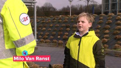 Karrewietreporter Milo (10), zoon van viroloog Marc Van Ranst, onderzoekt hoe België zich voorbereidt op coronavirus