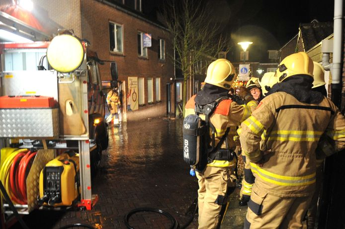 Brand in de Beyerstraat in Renkum.