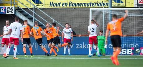 Toch nog gelijkspel voor Helmond Sport na slechte eerste helft
