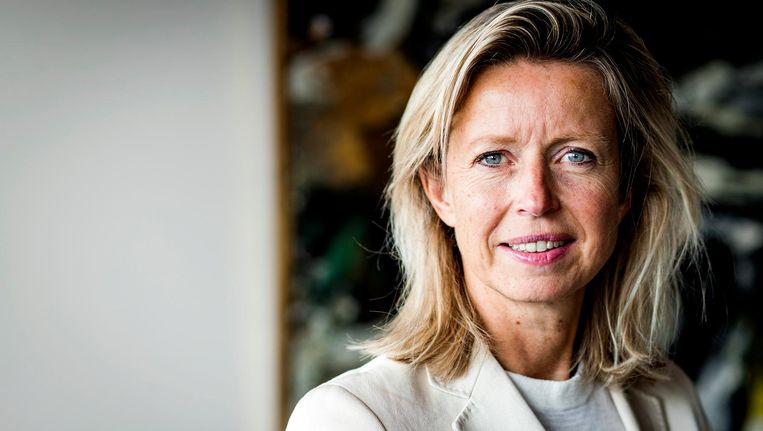 Liberale wethouder Kajsa Ollongren is voor ingrijpen, omdat de leefbaarheid voorop staat. Beeld anp