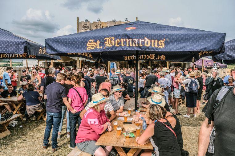 Op vlak van feestvieren was de Sint-Bernardustent de absolute place to be dit weekend.