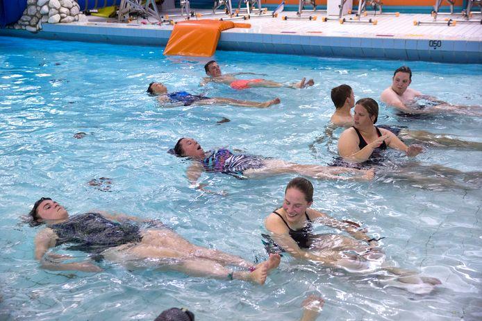 Zwemmen in de Hoevert, beeld ter illustratie.