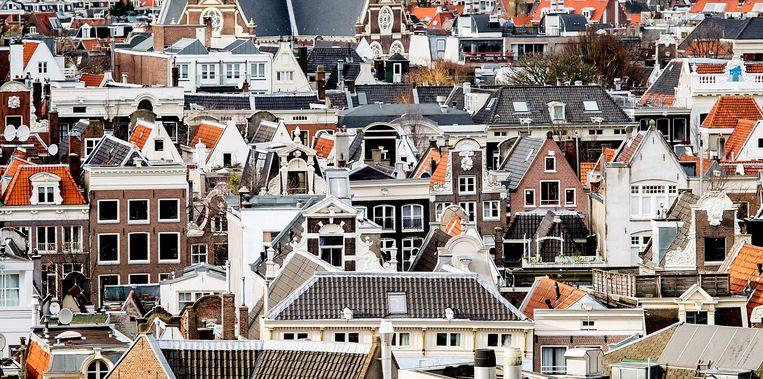 In totaal heeft de NVM op dit moment 55.000 woningen in de verkoop Beeld anp