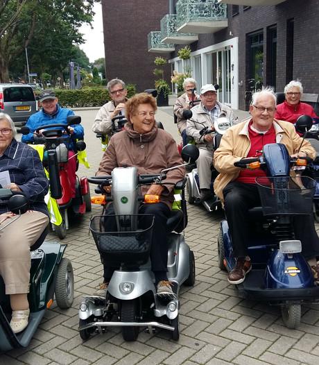 Scootmobielers verenigen zich in Aalten