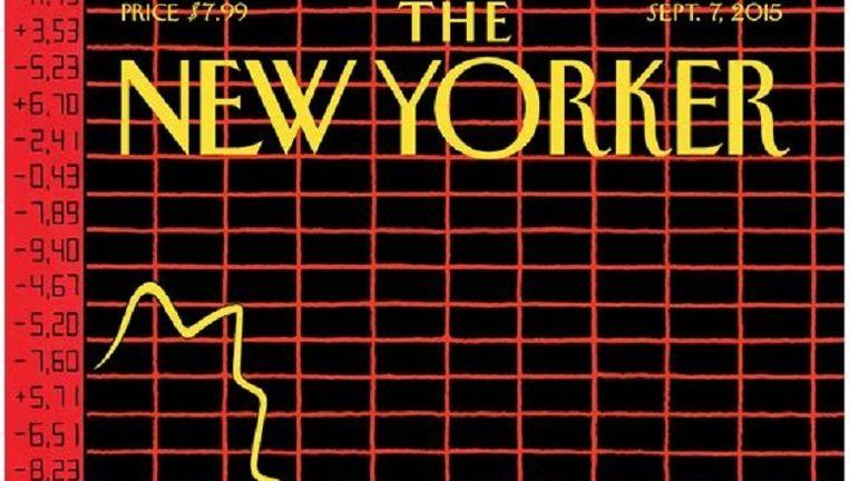 De cover van The New Yorker. Beeld .