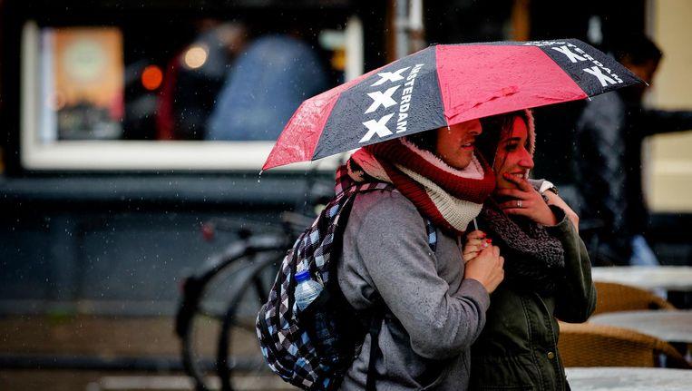 Regen gaat vallen Beeld anp