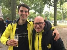 NSV-speler en -trainer verliezen baard na weddenschap: 'Het was boter bij de vis'