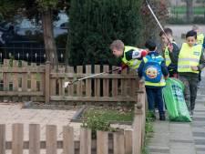 Tielse voetballertjes maken stad weer schoon