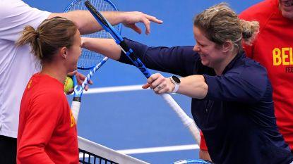 """Kazachse Fed Cup-kapitein: """"Zien of België Kim niet gaat opstellen"""""""