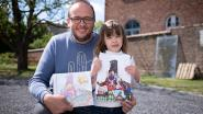 """Tekenaar maakt prentenboekje voor ongeneeslijk zieke Febe: """"Hou vol prinses!"""""""