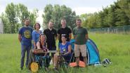 Poaldorppekkers dopen Dentergem om tot Camping Tentergem
