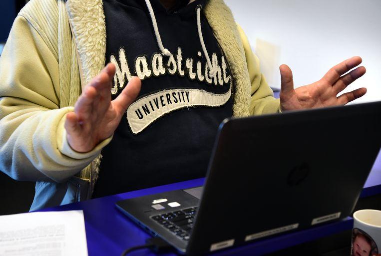 Cyberaanval op het computersysteem van de Universiteit Maastricht. Beeld Marcel van den Bergh