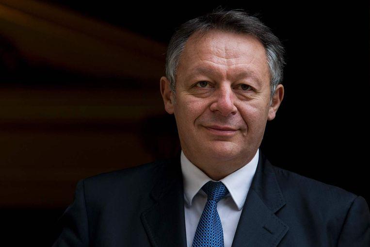 De Franse staatssecretaris van Sport Thierry Braillard. Beeld afp