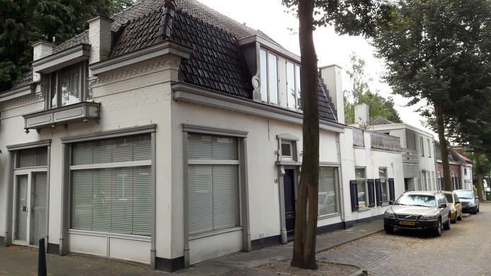 De oude bakkerij van Jan Kosters aan de kant van de Kerkstraat in Oisterwijk.