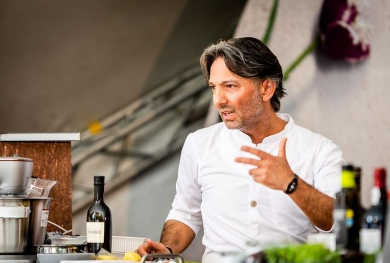 Sterrenchef Chef Ayt Erdoganb (45) opent rond de jaarwisseling zijn restaurant Blanco in het Truiense Bogaardenklooster.