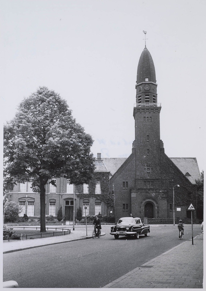 De Korvelse kerk in 1962.
