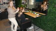 Elien bouwt garage om tot kap- en schoonheidssalon Eliens Beauty Palace
