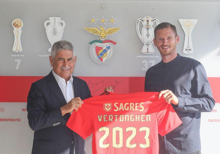 Jan Vertonghen tekent voor drie seizoenen.