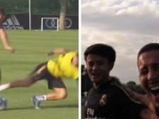 """Total régal à l'entraînement et modèle du """"Messi japonais"""": Hazard fait déjà des dégâts au Real"""