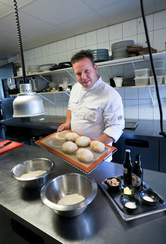 Martijn Faassen van restaurant Broertjes in Dommelen.