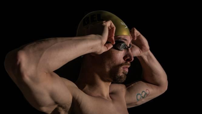 """Pieter Timmers bij zijn afscheidsevent International Swimming League: """"Fred Deburghgraeve staat nog veel hoger dan mezelf"""""""