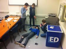 'Moord' in ED-vergaderruimte in Eindhoven