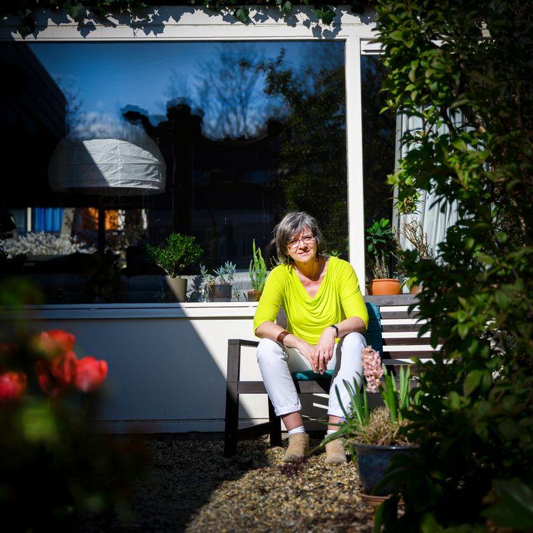 Dominee Alke Liebich:  'Ik ga mensen niet zomaar sussen, maar er is wel hoop.' Beeld Bram Petraeus