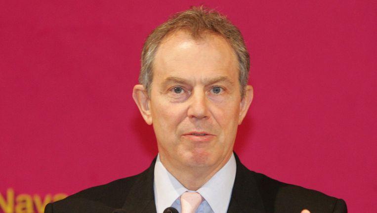 De Britse oud-premier Tony Blair.