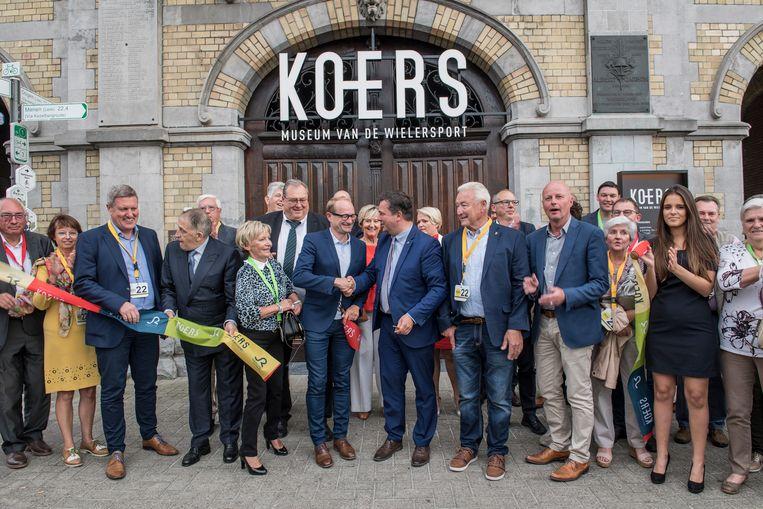 De feestelijke opening van KOERS. Museum van de Wielersport is een van de items die aan bod komen in het Filmjournaal 2018.
