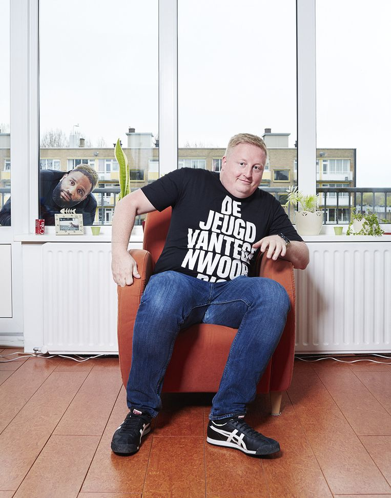 Superfan Reyer Krikke (34), jurist. Beeld Erik Smits