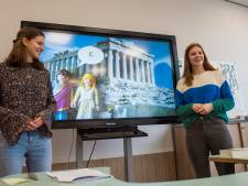 Zingend het Griekse alfabet leren op basisschool De Troubadour in Eindhoven