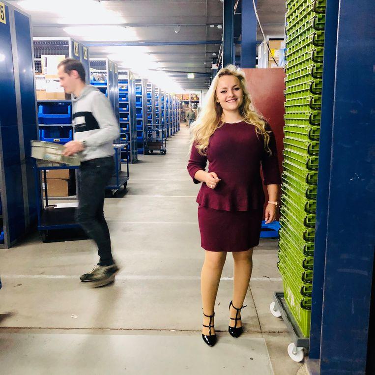 Megan Smit, productspecialist. Beeld
