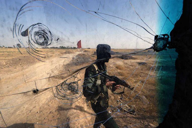 'De afgelopen jaren vertrokken ruim dertig Haagse jihadisten naar Syrië' Beeld anp