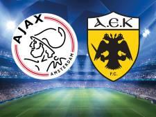 Ajax keert terug in Champions League