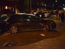 Dronken automobilist ramt vier geparkeerde auto's in Breda