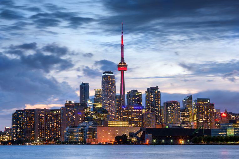 De skyline van Toronto. Beeld Getty Images