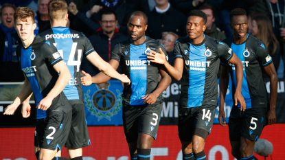 Club Brugge en Standard houden het op 1-1 na flauwe topper
