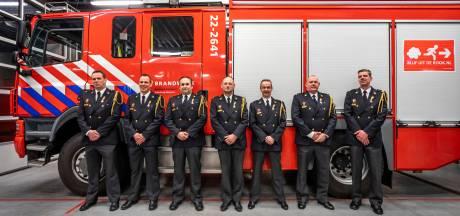 Lintjes voor 7 Mierlose brandweermannen die al ruim 20 jaar paraat staan