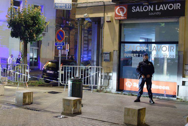 De politie onderzoekt de dodelijke schietpartij in Vorst.