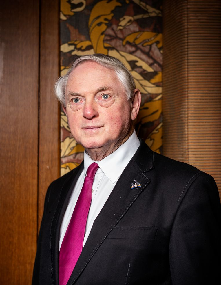 Oprichter Jan Nagel is opnieuw partijvoorzitter van 50Plus. Beeld Jiri Büller
