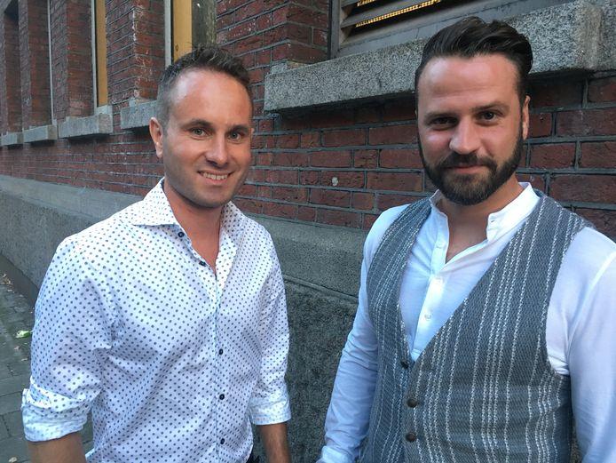 Bart Nolles en Simon Zijlemans