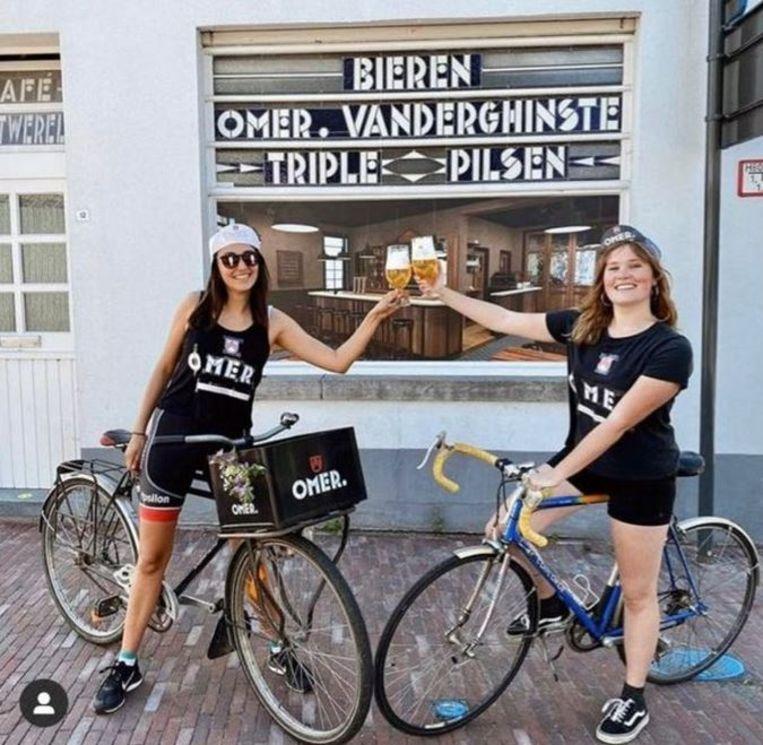 Yarine Accou en Birgit Leman zijn de winnaars van de Omer challenge. Proficiat!