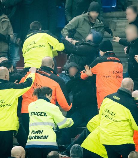 Stadionverboden na rellen tijdens Vitesse-Feyenoord