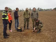 Jongeren vinden bom tijdens zoektocht met metaaldetector in Megchelen