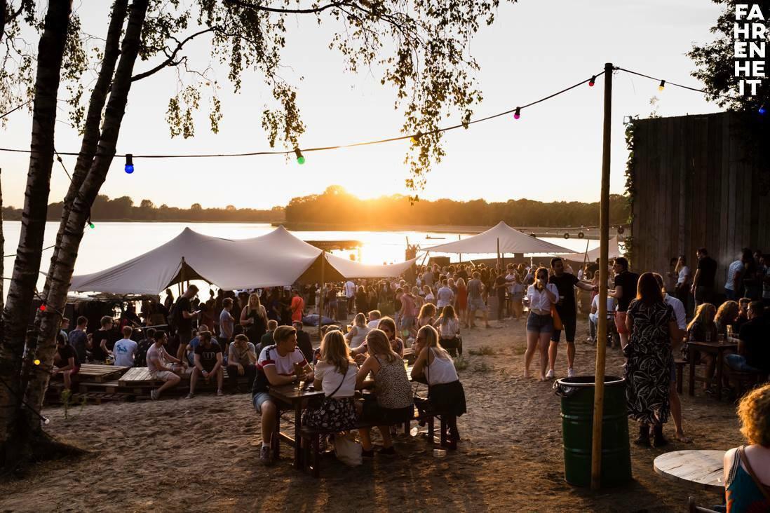 Fahrenheit festival 2018 bij beachclub MEER in Winterswijk.